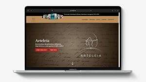 Arteleia Website
